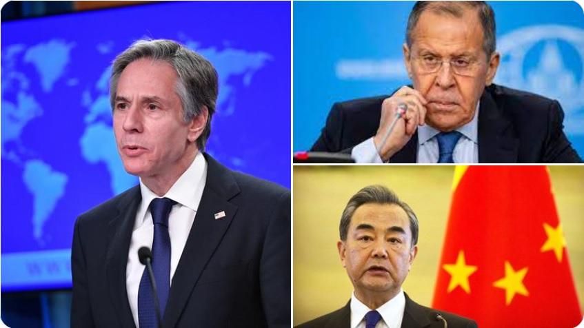 अमेरिकी विदेश मंत्री एंटनी ब्लिंकन ने आज चीन और रूस के साथ अफगानिस्तान सरकार के पतन पर चर्चा की