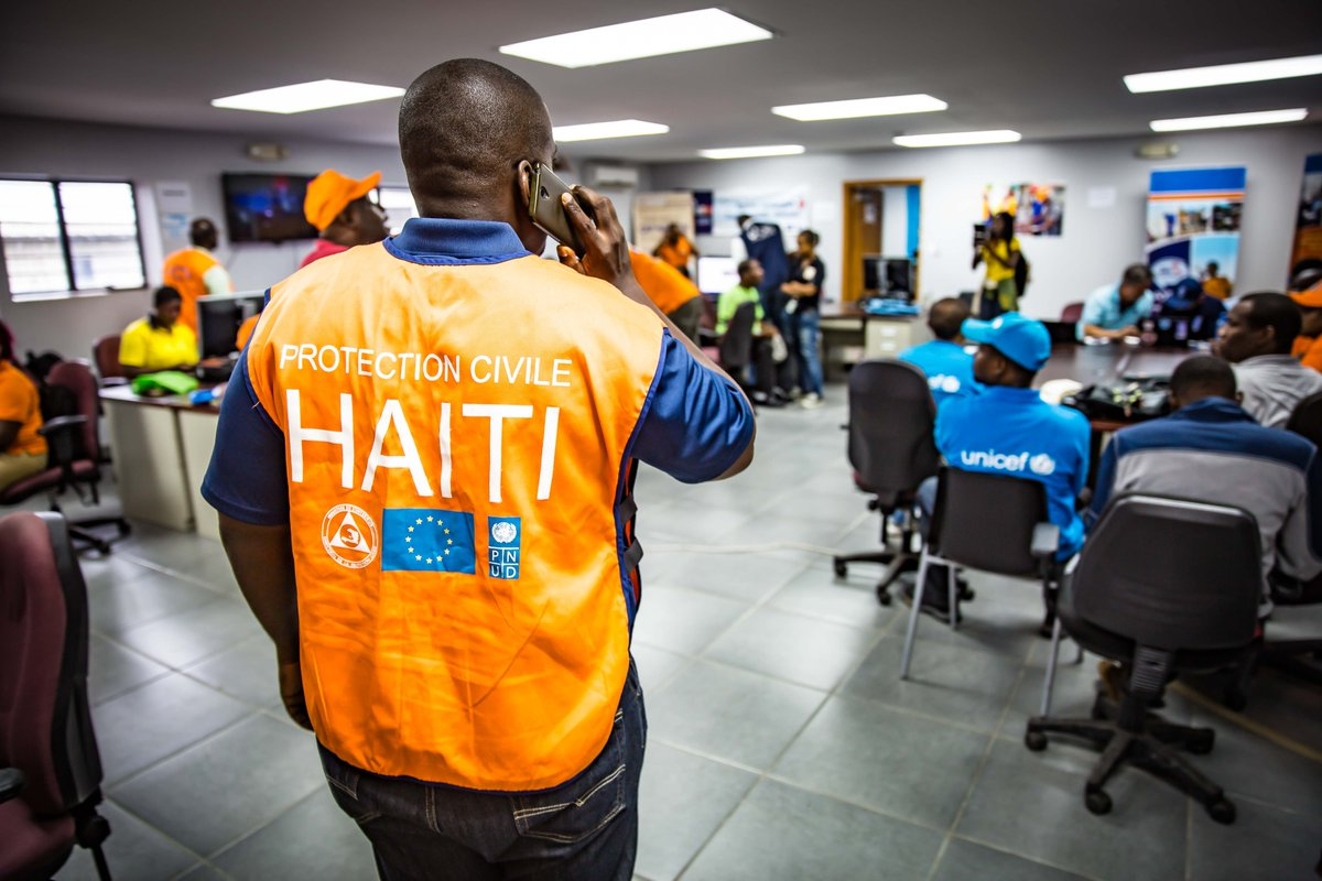 #EarthquakeHaiti Our thoughts are with those affected, @EnvironmentOcha is deploying to support the government-led response #readytogo @UNEP @UNOCHA