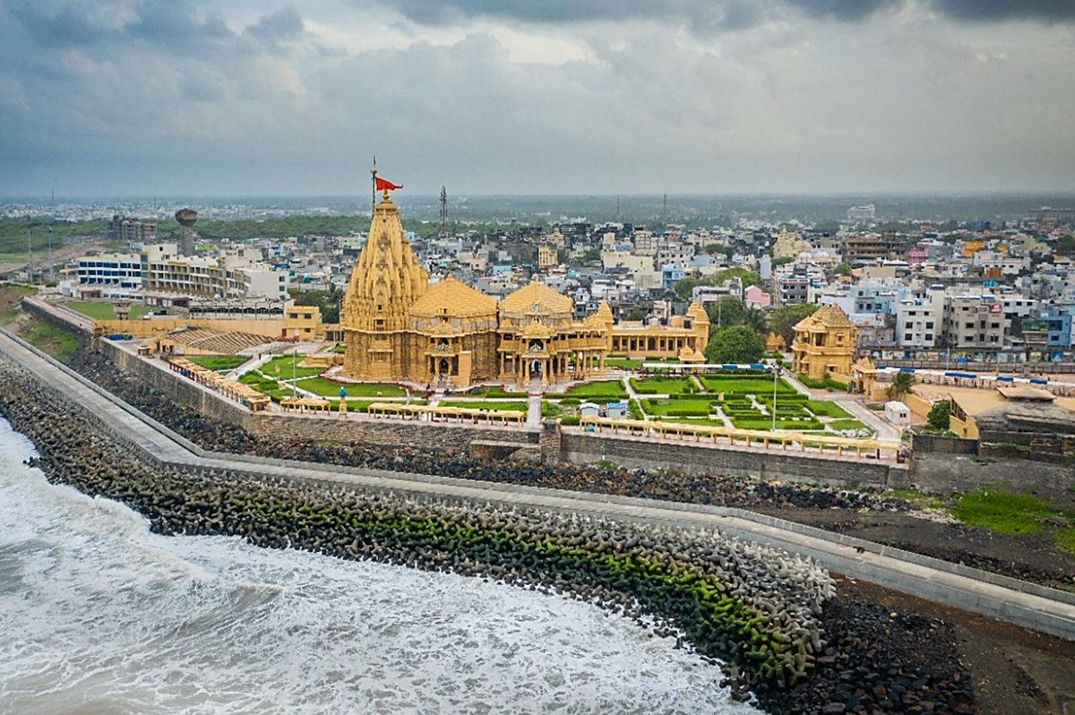 In pictures: A promenade to be inaugurated by PM Modi this week at Prabhas Patan – Somnath