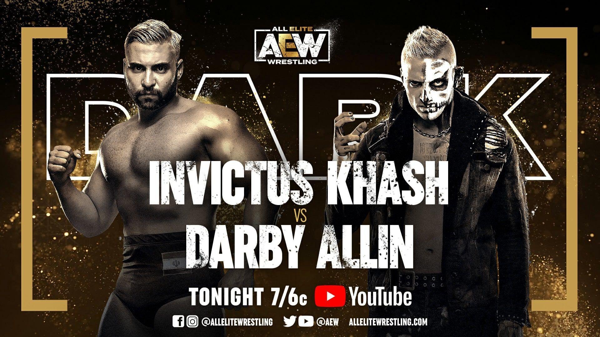AEW Announces 18 Matches For Tomorrow's AEW Dark