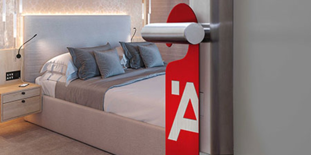 Safety first: Discover the contactless innovation for hotels that's helping reduce touch points and face-to-face interactions between guests and staff [AD] @HafeleUK #ribajproducts #hotelsandleisure ribaj.com/products/hafel…