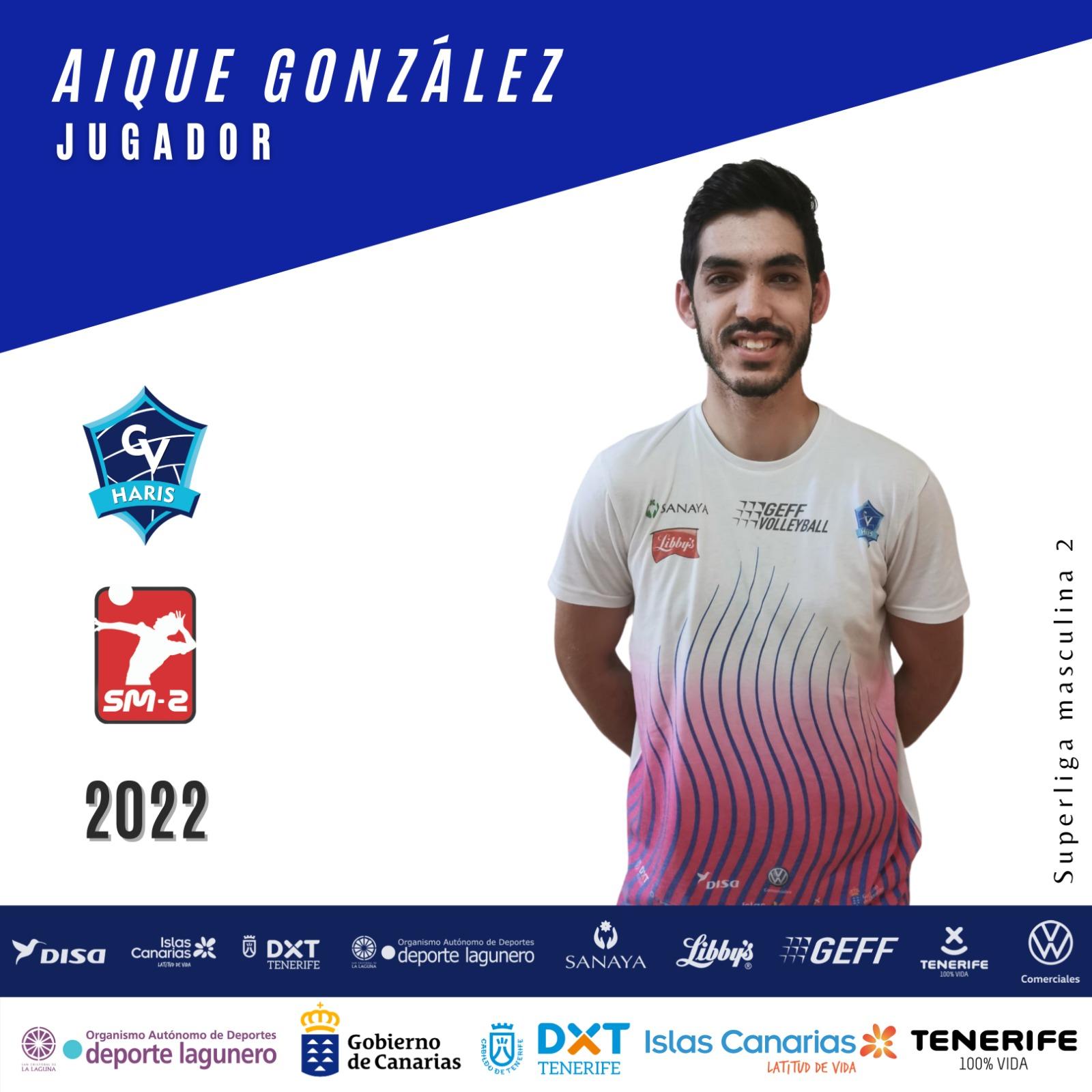 ImagenAique González renueva otra temporada con el CV Haris