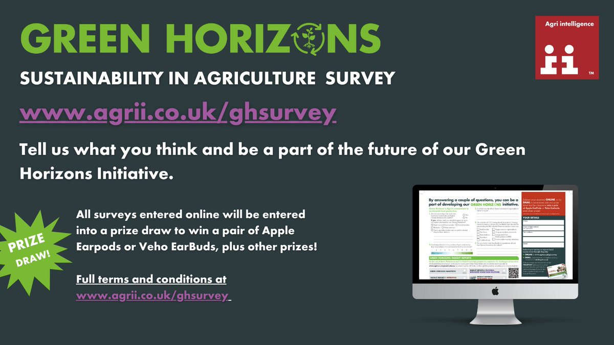 Help us to help you 🙏  What does sustainable agriculture mean to you? https://t.co/lDhP44eCAP   #Greenhorizons