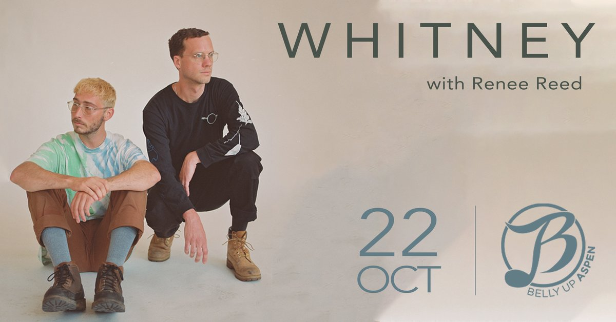 Retro-rock band @whitneytheband, whose debut album 'Light Upon the Lakes' Elton John named one of his favorite albums of the year, comes Friday, 10/22! Tickets: ow.ly/AOlC50FOfWR