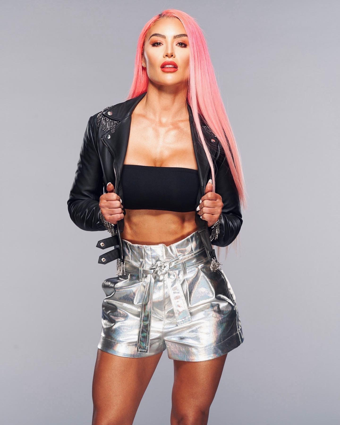 WWE Star Eva Marie Continues To Bring Pink Power In Stunning Photos 193