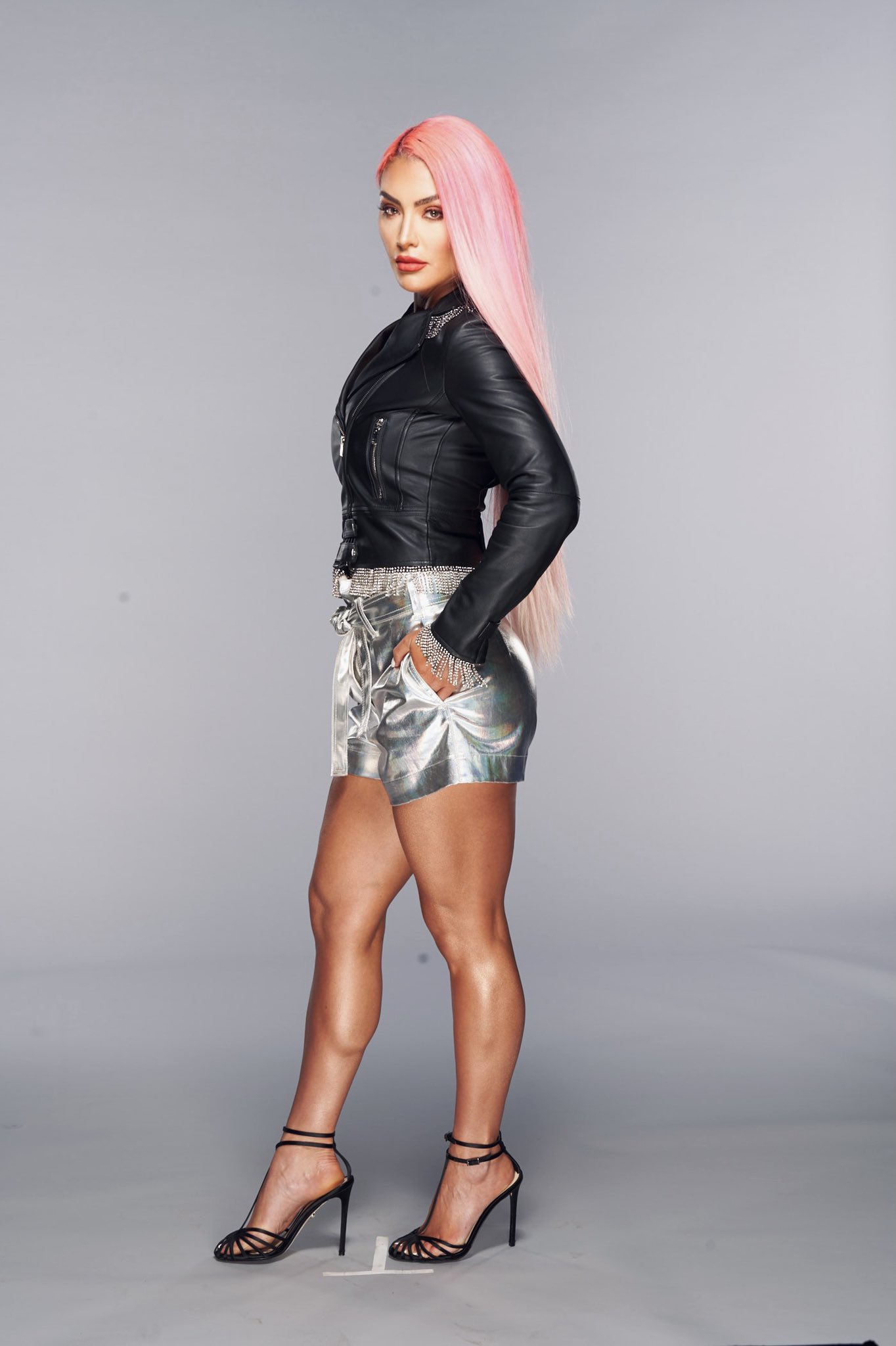 WWE Star Eva Marie Continues To Bring Pink Power In Stunning Photos 194