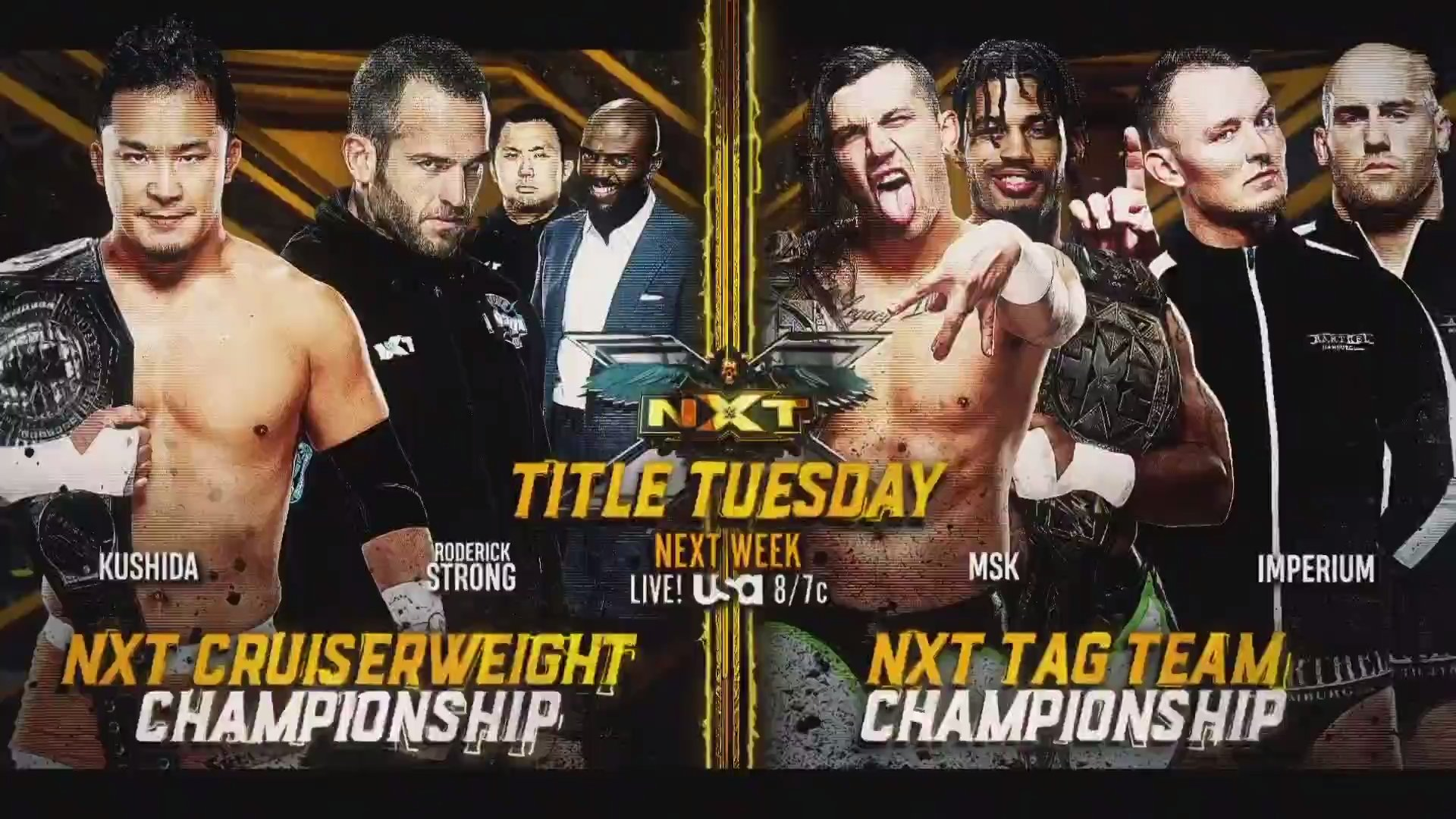 WWE NXT Title Tuesday Announced Before TakeOver 36 18