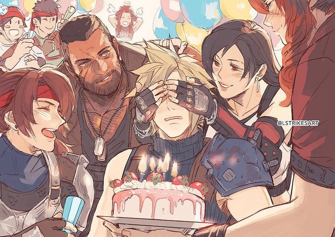 Happy Birthday, Cloud!  He\s a big boy now, being 35 and all