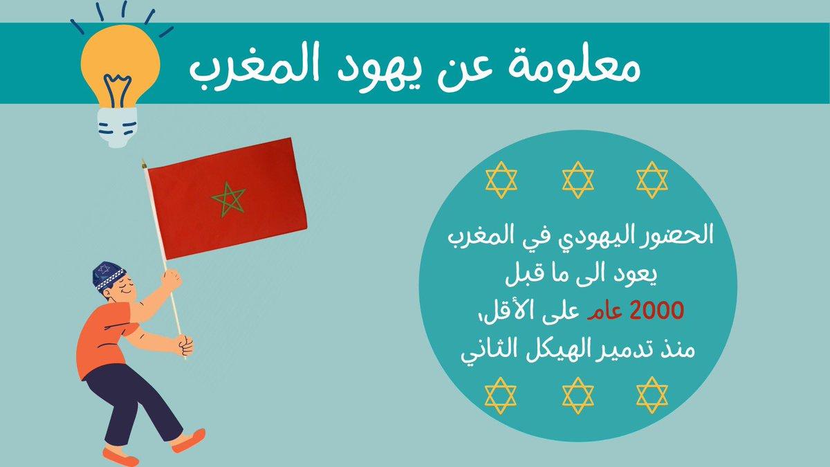 هل تعلم ما هو تاريخ الحضور اليهودي في المغرب؟ فمن الطبيعي ان تجمع الإسرائيليين