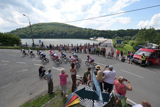 Fernando Gaviria gana etapa 3 Tour de Polonia 2021
