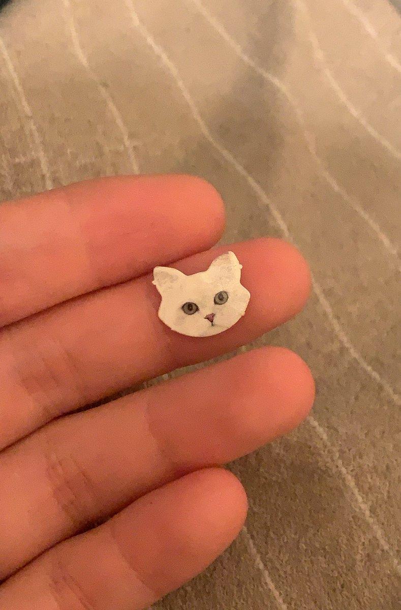 最近気が付いてしまったギミック。モンプチの猫の顔が取れる仕様になっている。