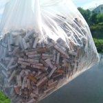 「多摩川」たばこのポイ捨て禁止!捨てたものは結局人間の胃袋に帰ってくることを理解してほしい