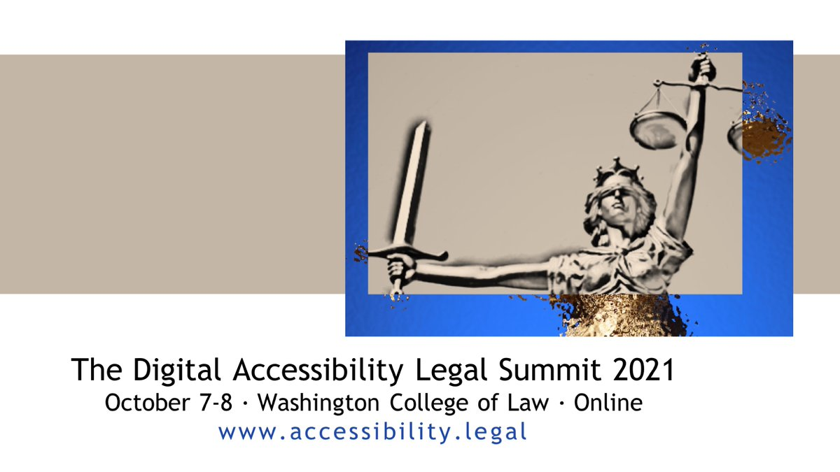 <b>Digital</b> Accessibility Legal <b>Summit</b> (@A11yLegalSummit) | Twitter