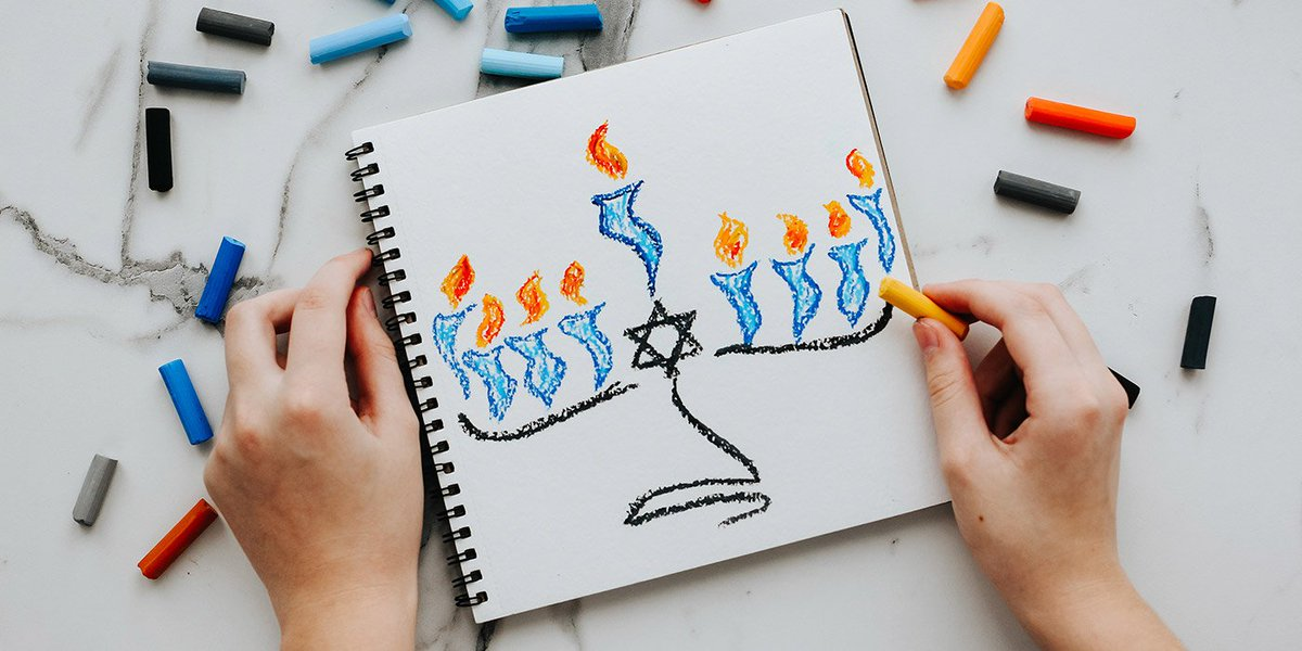Hanukah is a beautiful holiday filled with light and good food, celebrated with family and friends. We light a Menorah to commemorate the miracle of light, we eat fried foods like delicious latkes and donuts, give gifts or Hanukah 'gelt', sing songs and play games like dreidel