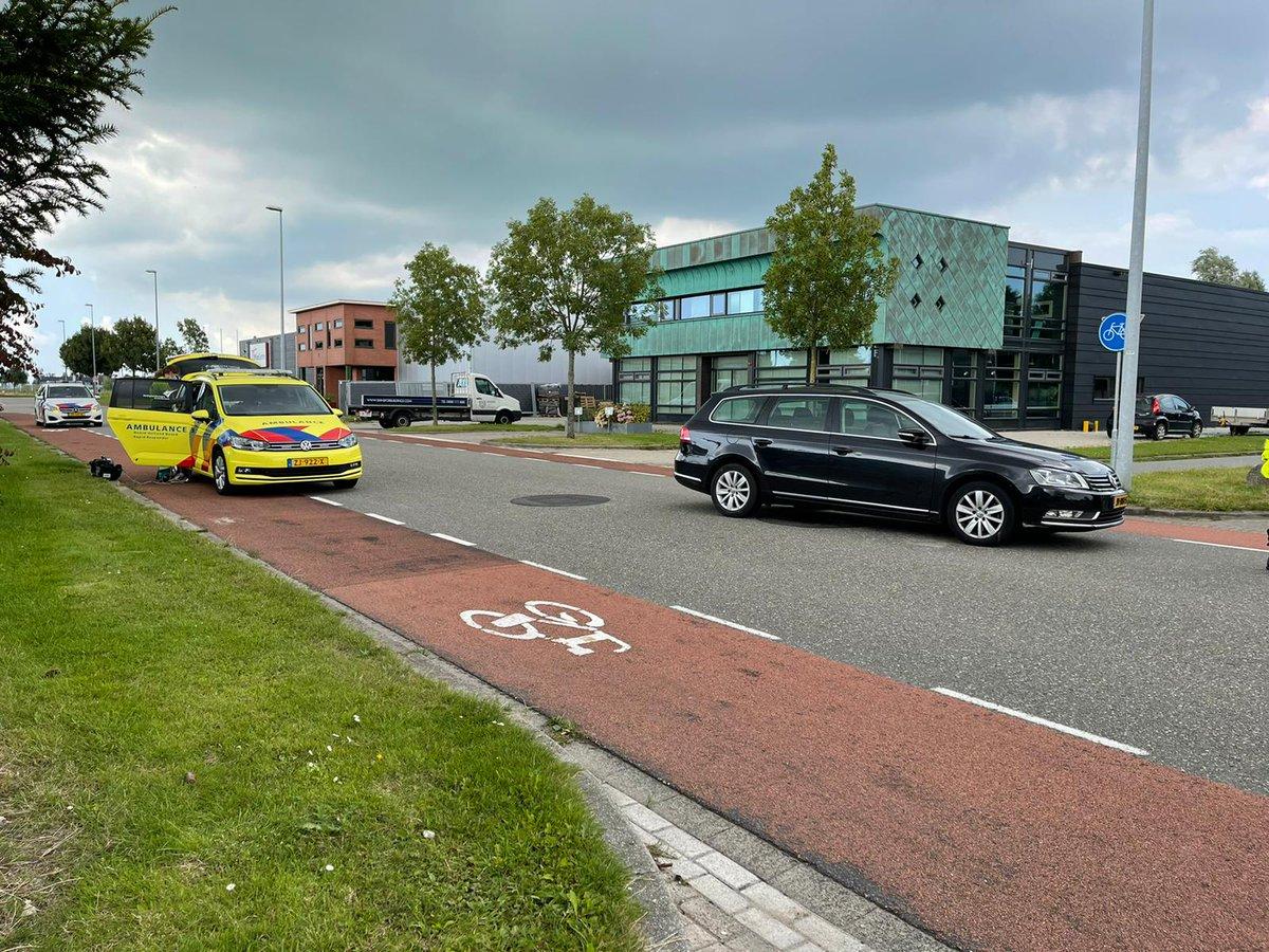 """Nu op WF Nieuws: """"Fietser gewond naar het ziekenhuis na aanrijding op De Corantijn in Zwaag""""   #aanrijding #corantijn #fietser #gewond #ziekenhuis #zwaag"""