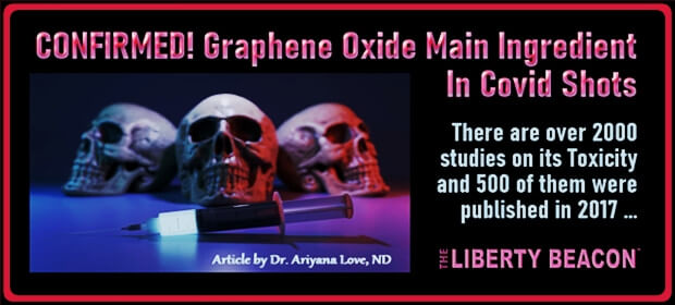 """Meta Nutrients on Twitter: """"CONFIRMED! Graphene Oxide Main Ingredient In  Covid Shots By Dr. Ariyana Love, ND #News #Graphene @thetlbproject ~ See  article: https://t.co/jxi0fTU2Ee… https://t.co/K13PVqkk2j"""""""
