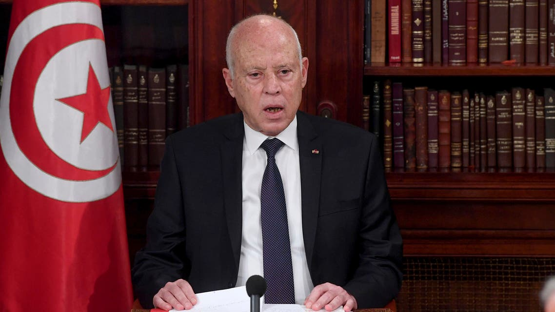 Tunisia's President Kais Saied receives US delegation carrying message from Biden