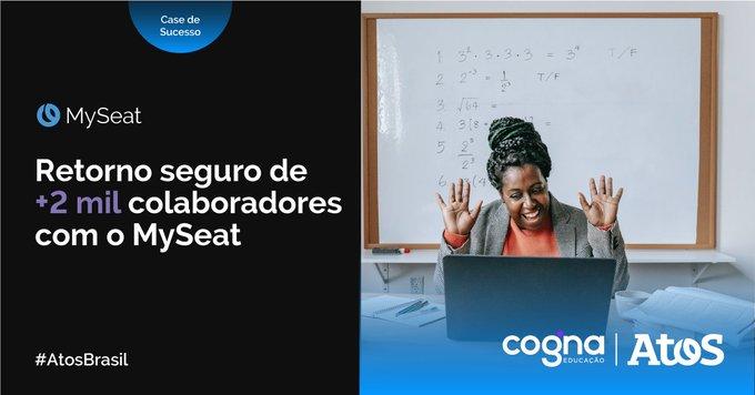 A Cogna uma das maiores companhias do setor de educação do mundo, escolheu o...