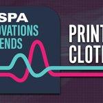 Image for the Tweet beginning: Printed Clothing trend talk: #digitalprint