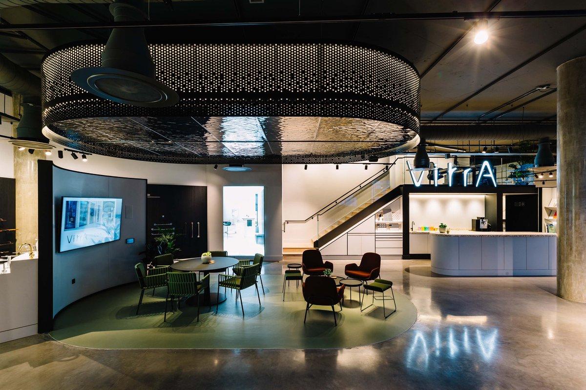 VitrA Showroom in Clerkenwell, London Shot for: @DESIGNPLUSLIGHT