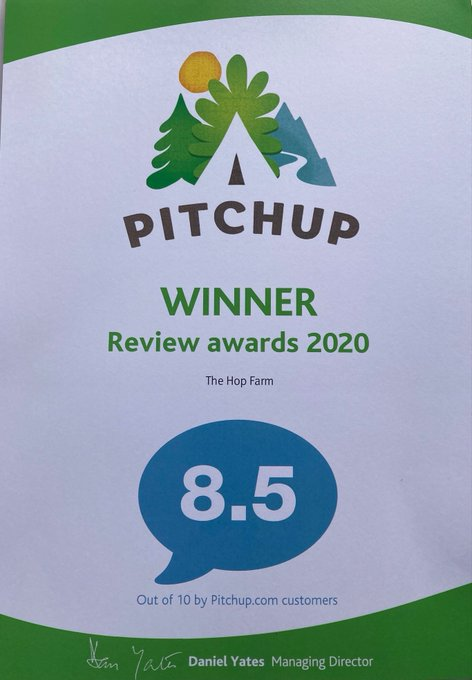 We're absolutely thrilled to have just won this prestigious award for our Camping & Touring Park, against tough competition. Find out how beautiful our camping facilities & open countryside are. Book today: https://t.co/u4bdqyGK72 #staycation #...