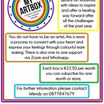 Image for the Tweet beginning: MyArtbox, created by therapist Wendy