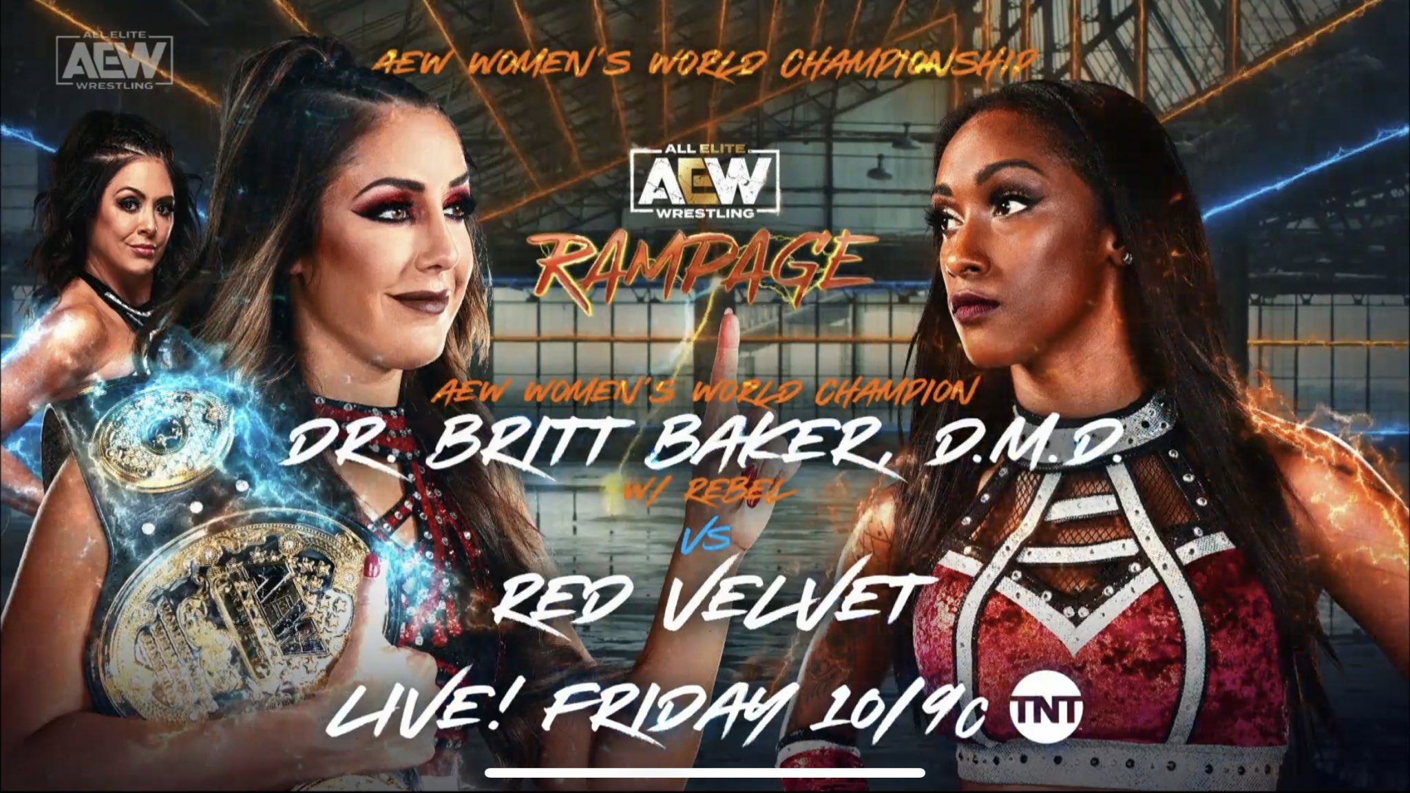 AEW Rampage for 8/13/21 https://pbs.twimg.com/media/E8luPlsXEAUHpkN?format=jpg&name=large