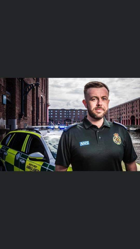 So proud of my friend Chris and everyone that works front line NHS tonight. And to all the anti-vaxxers and covid deniers...how very fucking dare you. How dare you. #Ambulance #ProudOfTheNHS