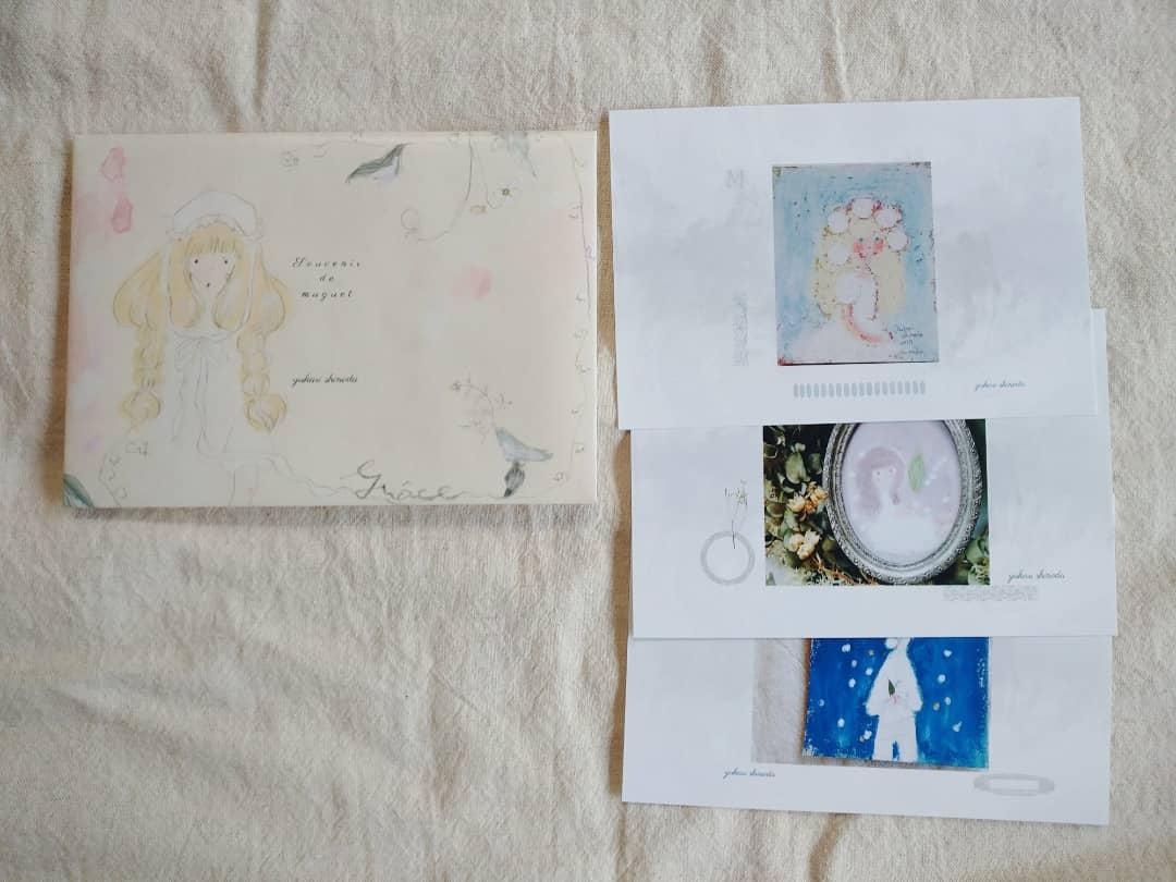 作品集 「すずらんの記憶」 手作りの小冊子です。 草舟あんとす号さんweb shopにてお取り扱いいただきます。 8/17(火)掲載、販売開始予定です 🌿 ポストカードセットも作りました。 想い出のすずらんの子たちへ愛情たっぷりに作りました。 どうぞよろしくお願いいたします🌿 kusafune-anthos.shop-pro.jp