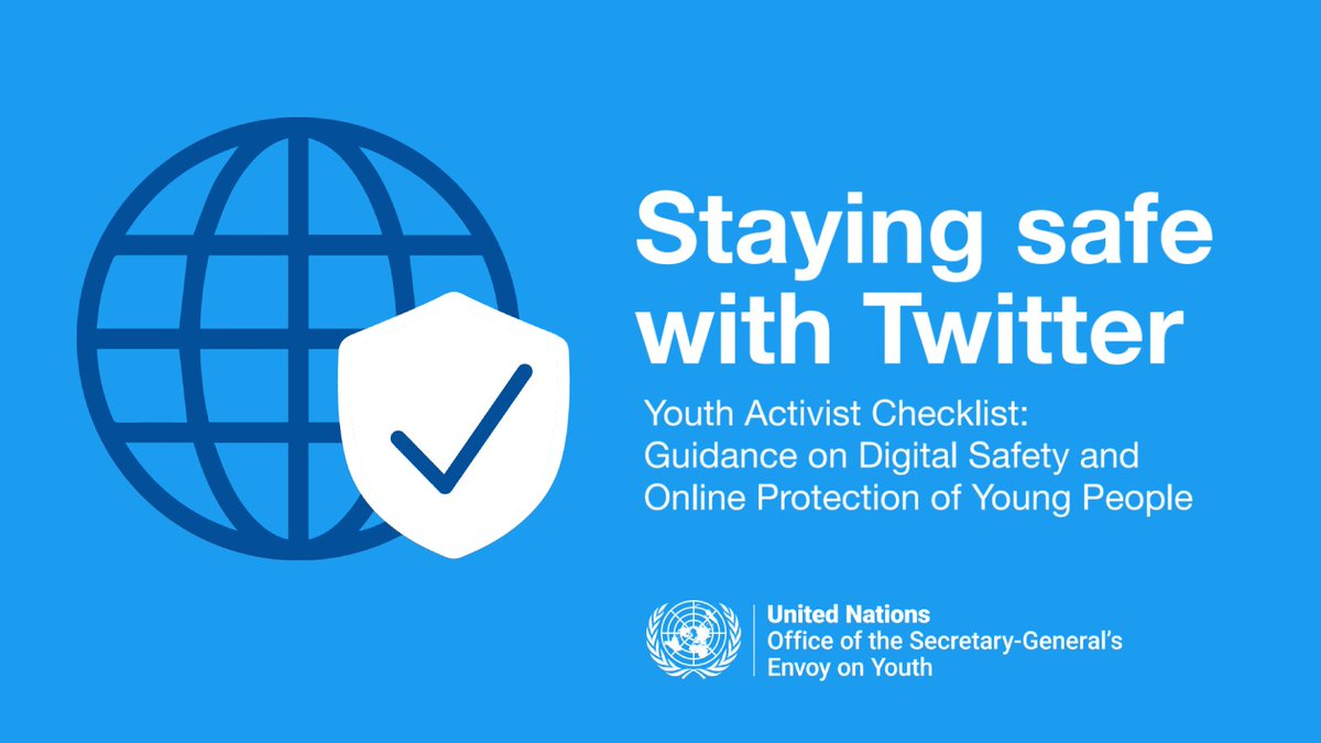 Welcome back to the #YouthLead Innovation Festival 👏  We've heard directly from young ppl that there was a lack of youth-friendly digital safety materials available so we worked with Twitter to develop a key resource.  👋 @Nonprofits let's show folks what we've been working on?!