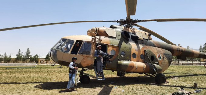 Taliban-Helicopter