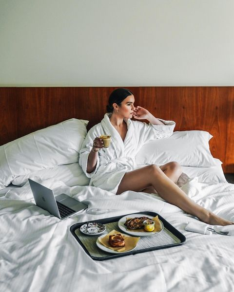 A bed so Heavenly you'll want to spend all morning there. #SleepWell 📷 _hollyt on IG 📍 @westinmelbourne