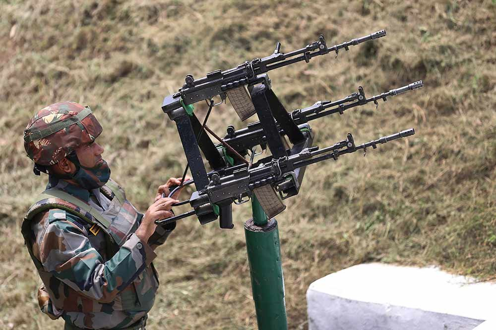 anti-drone gun system