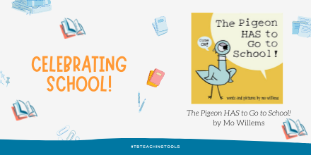 test Twitter Media - The Pigeon HAS to Go to School! by Mo Willems -  Look at these great activities  https://t.co/Xj9QiJXIBo @DisneyBooks  #tbteachingtools #kidlit https://t.co/KlRqRYWAfI