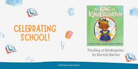test Twitter Media - Enjoy this complete book reading of King of Kindergarten by Derrick Barnes https://t.co/P3UL3XPOW3 @penguinusa  #tbteachingtools #kidlit https://t.co/jWUxbN8XQ2