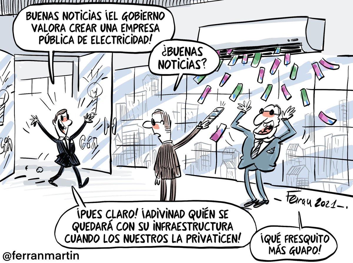 """Ferran Martín on Twitter: """"Al fresco. Nueva viñeta vía  https://t.co/Me481rDvZu #electricas #luz #mwh #viñetas… """""""