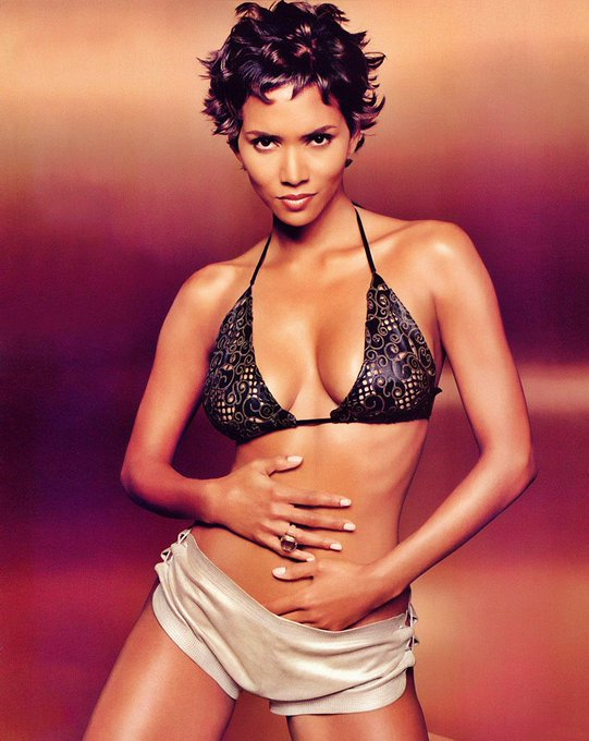 Happy Birthday to Halle Berry     Who is 55yo today!