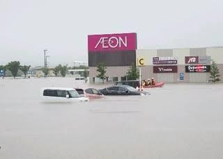 浸水の常連だった小郡イオン、完璧な対策を講じ浸水を免れる!