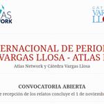 Image for the Tweet beginning: 🗣️ I PREMIO DE PERIODISMO