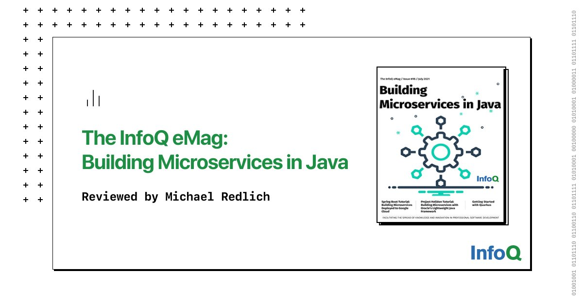 Since 2018, we've seen three new open-source frameworks: #Micronaut, #Helidon, and #Quarkus emerge to complement the already existing #Java middleware open-source products. Explore these frameworks in this InfoQ minibook. Complimentary download on InfoQ: bit.ly/3AcGjuj