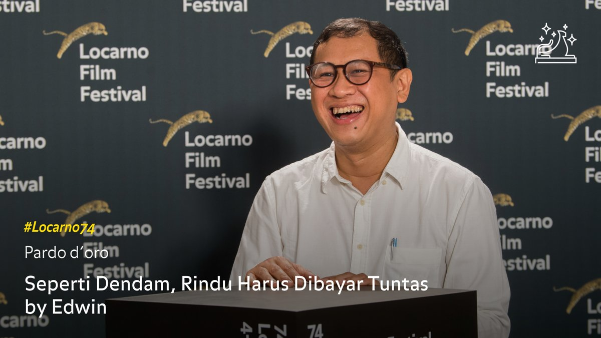 The Pardo d'oro, Grand Prize of the Festival of the City of Locarno to the best film goes to: SEPERTI DENDAM, RINDU HARUS DIBAYAR TUNTAS (Vengeance Is Mine, All Others Pay Cash) by Edwin, Indonesia / Singapore / Germany. https://t.co/sn70XegWW2