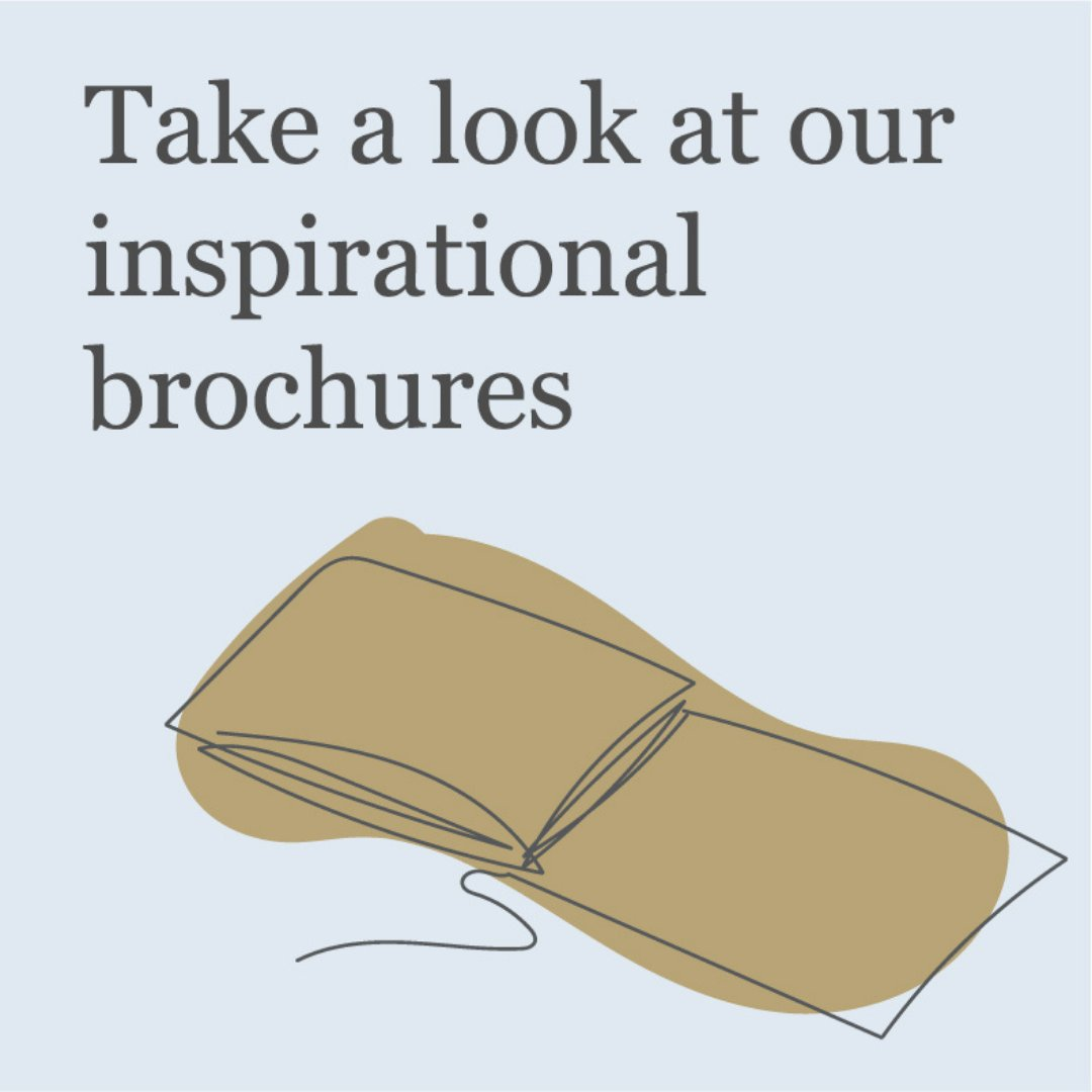 Be inspired and download or order our beautiful brochures - bit.ly/3w1troo