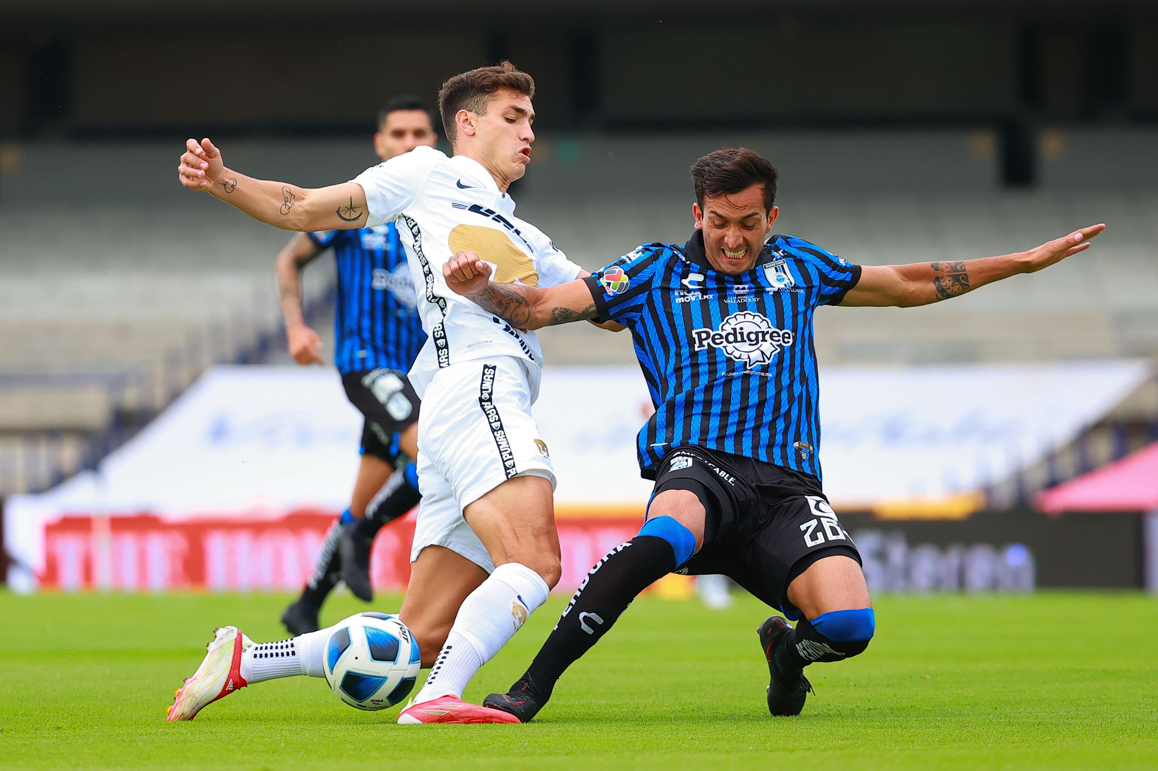 Pumas vs Querétaro 0-0 Torneo Apertura 2021