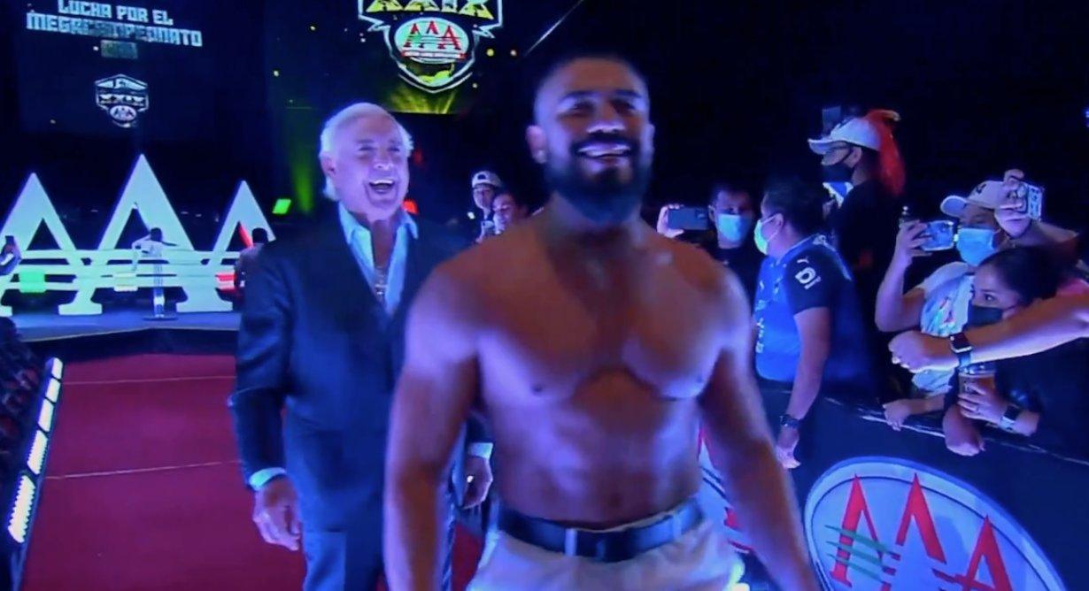 WWE Legend Ric Flair Denies Being In Viral Scandalous Photo 19