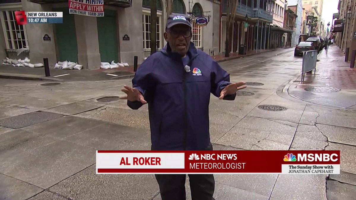 Image for the Tweet beginning: .@alroker has a message for
