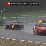 F1ベルギーグランプリ、荒天の影響で史上最短3周でレース終了!