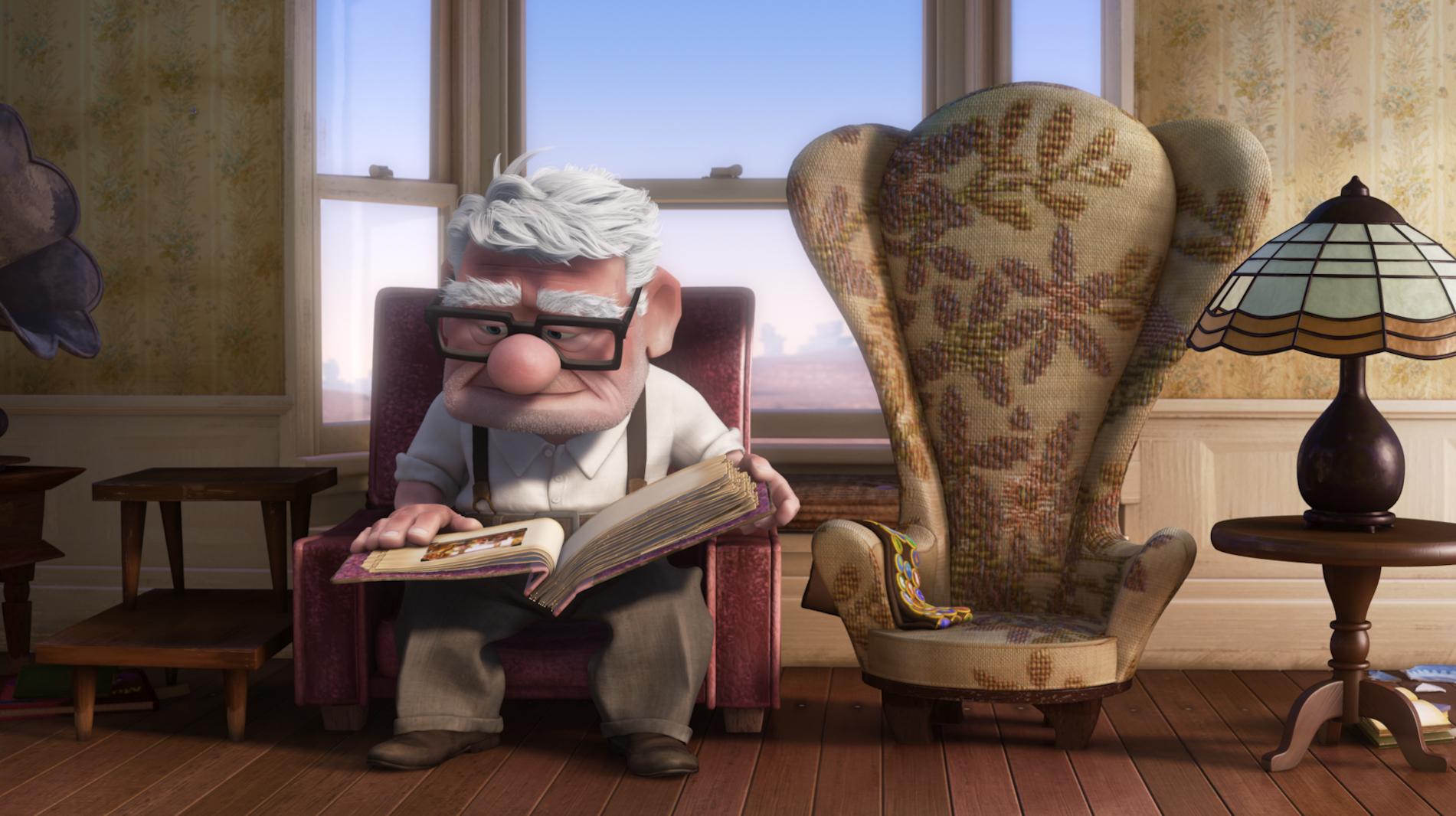 Ed Asner, voz de Carl Fredricksen, morre aos 91 anos