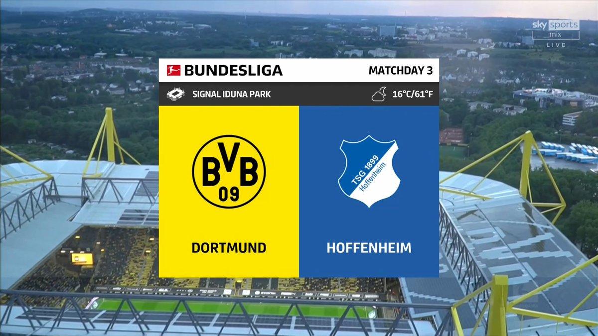 Full match: Borussia Dortmund vs Hoffenheim