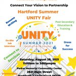 Image for the Tweet beginning: The UNITY Resource Fair is