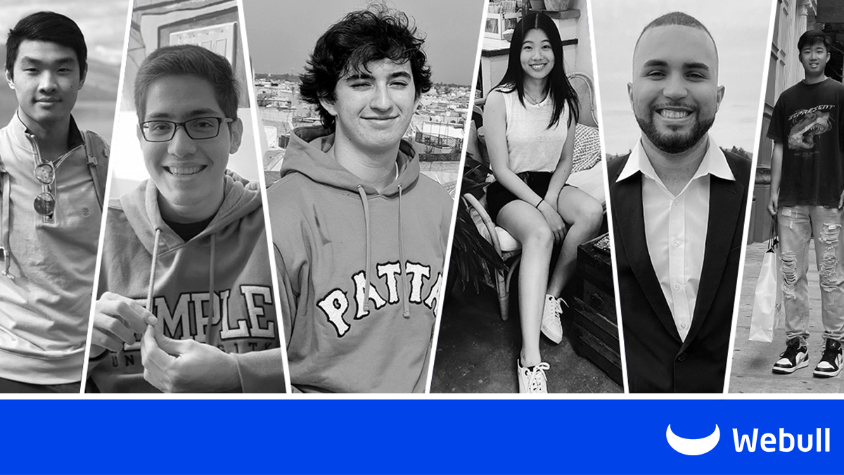 Our 2021 summer internship has come to an end. Head over to our Instagram: bit.ly/3Bh7Vil to check out what our interns thought about their experience at #Webull. We would like to say a big Thank You to all our interns for their hard work and contribution to the team!